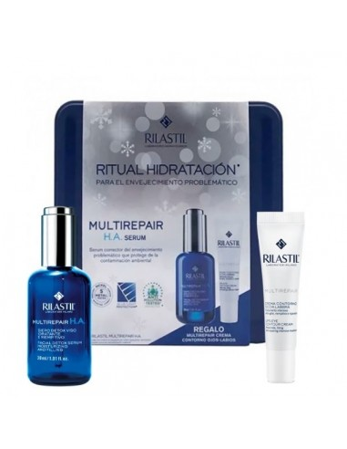 RILASTIL MULTIREPAIR PACK H.A SERUM...