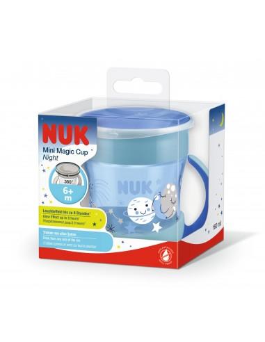 NUK MINI MAGIC CUP NIGHT 160ML 6MESES+
